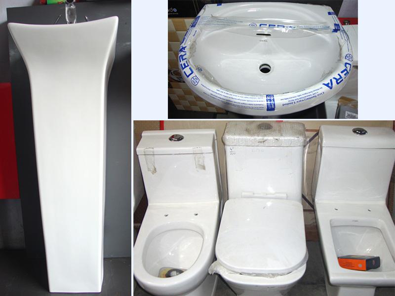 Hindware and Cera Sanitary Fittings