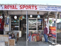Royal Sports shop in Bhawarna, Palampur