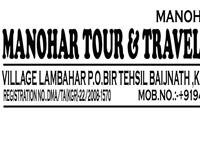 Manohar Tour And travels, Chogan, Tehsil - Baijnath