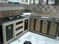 Aluminium Modular Kitchen Fabrication in Dehra, Kangra
