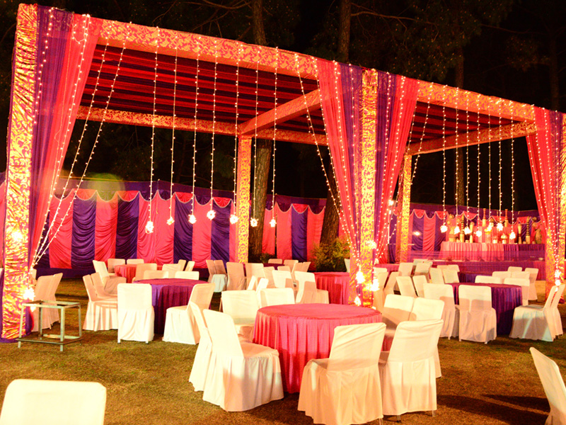 Pawan Flower Tent and Catering Services & Wedding Stage Flower Tent Decoration Catering in Palampur