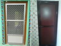 Aluminum Door Fabrication in Palampur